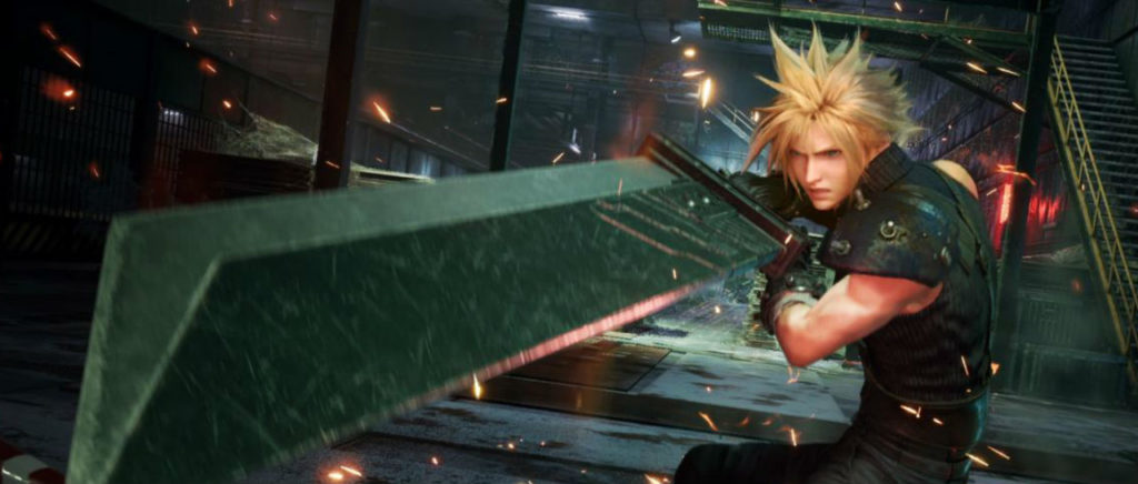 FFVII Remake Cloud Atomix