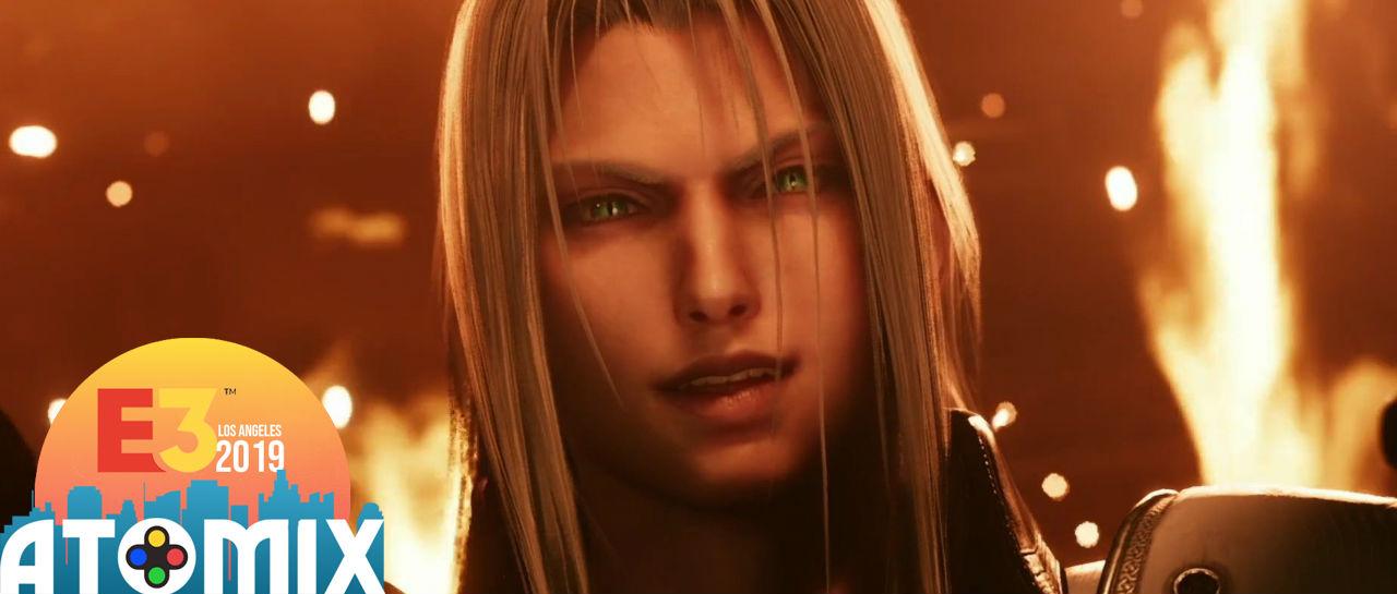 FFVII Remake Sephiroth E3 2019 Atomix