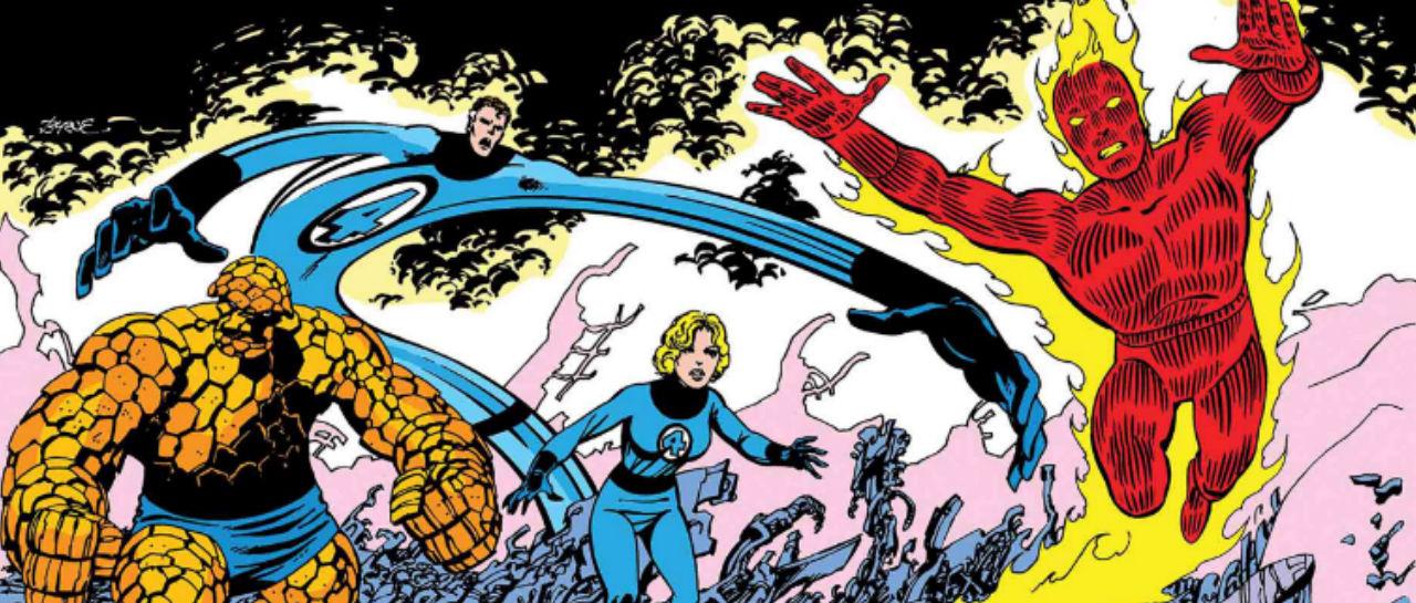Fantastic Four Marvel Atomix