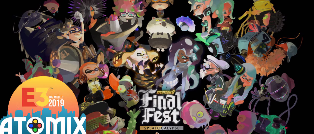 Final Splatfest E3 2019 Atomix