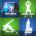 Fortnite emotes Filtracion Atomix