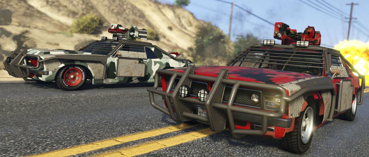 GTA Online carreras Atomix