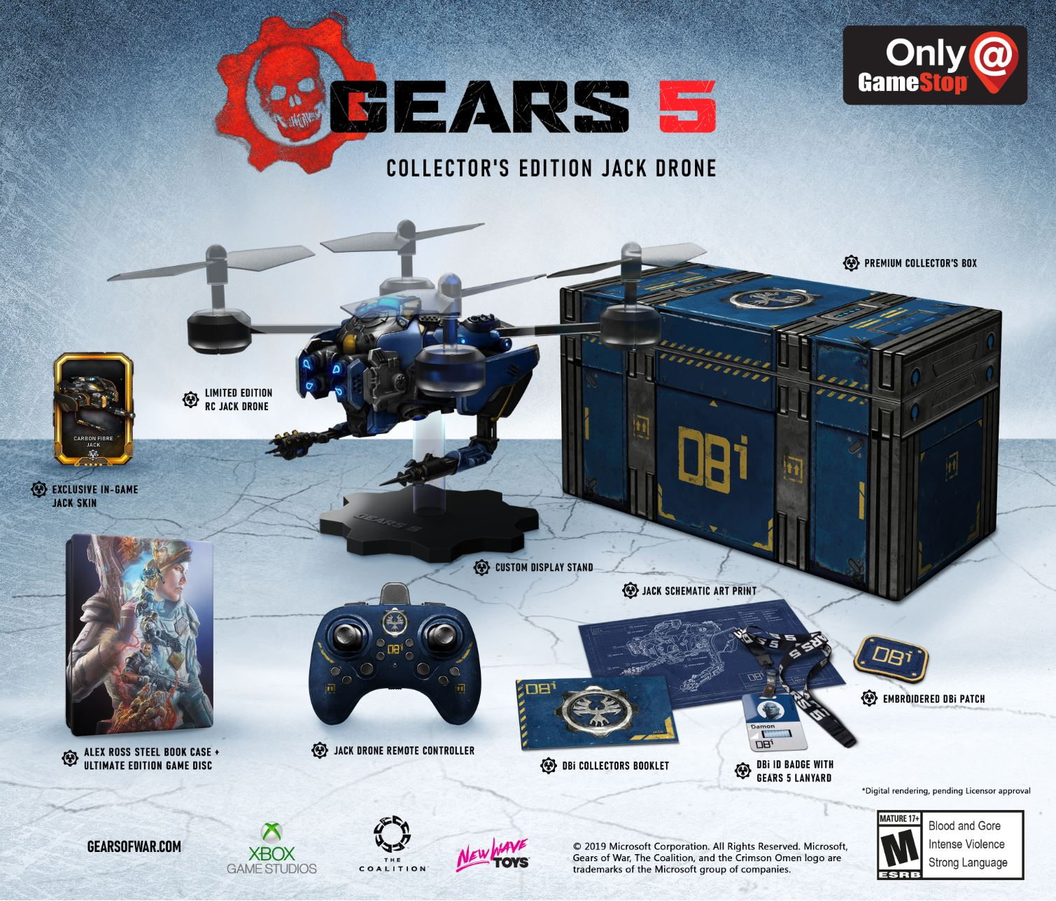 Gears 5 Collectors Dron Atomix