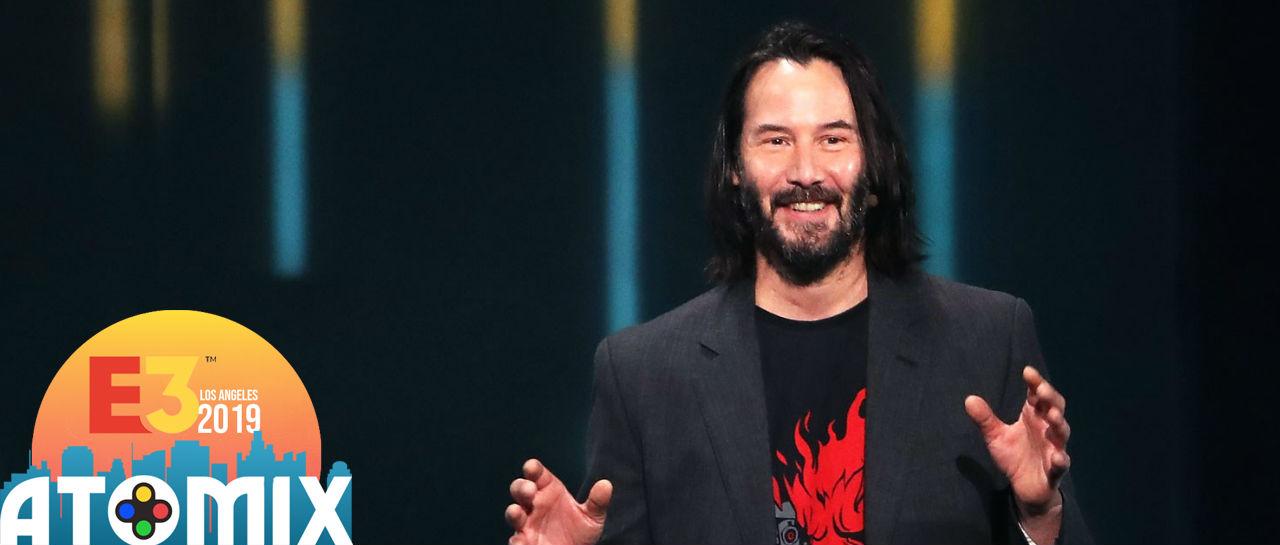 Keanu Reeves E3 2019 Atomix