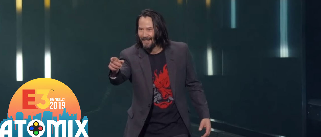 Keanu Reeves E3 2019 Atomix