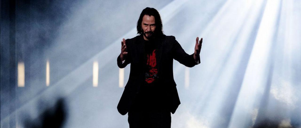Keanu Reeves E3 conferencia Atomix
