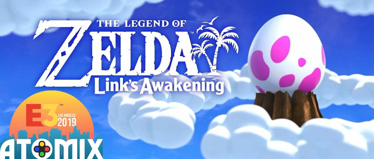Links Awakening E3 2019 Atomix