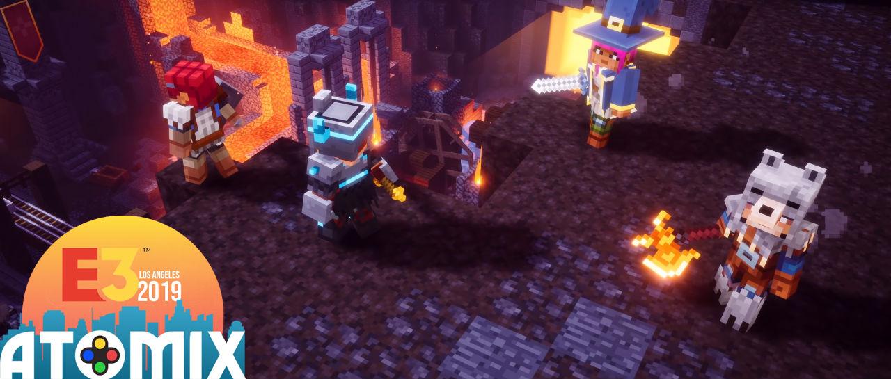 Minecraft Dungeons Atomix E3 2019