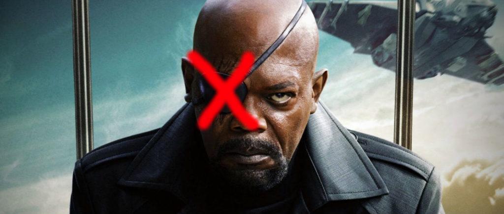 Nick Fury parche Atomix
