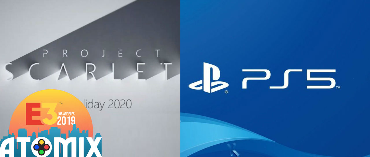 PS5 vs Scarlett E3 2019 Atomix