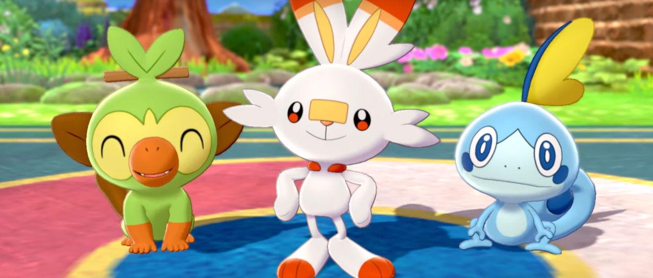 Pokemon Sword Shield trailer E3 Atomix
