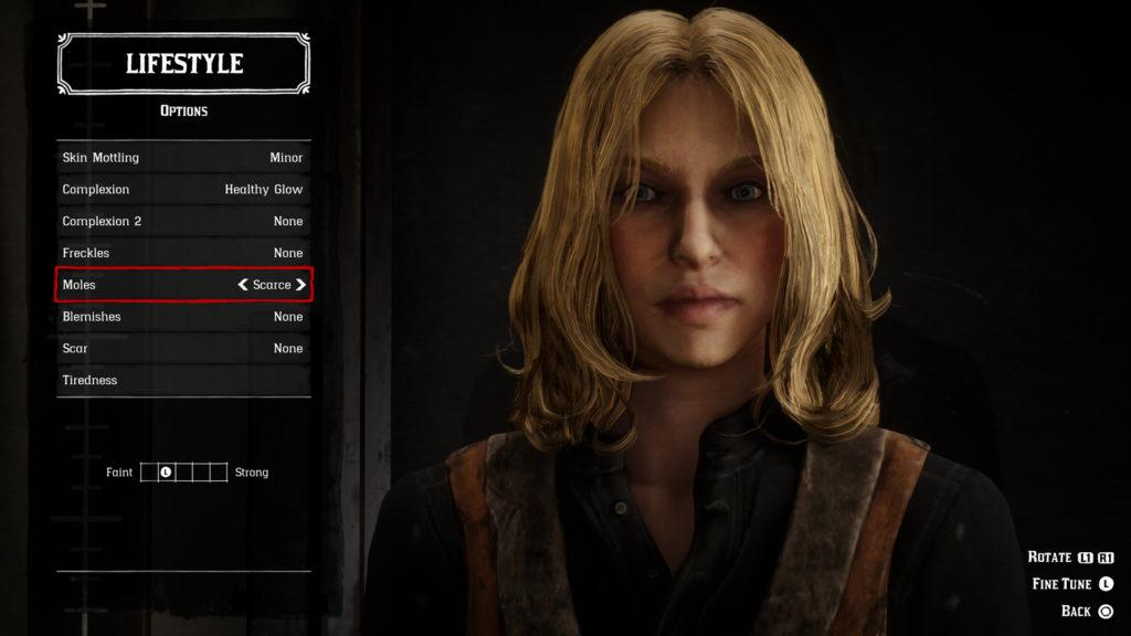Red Dead Online apariencia Atomix