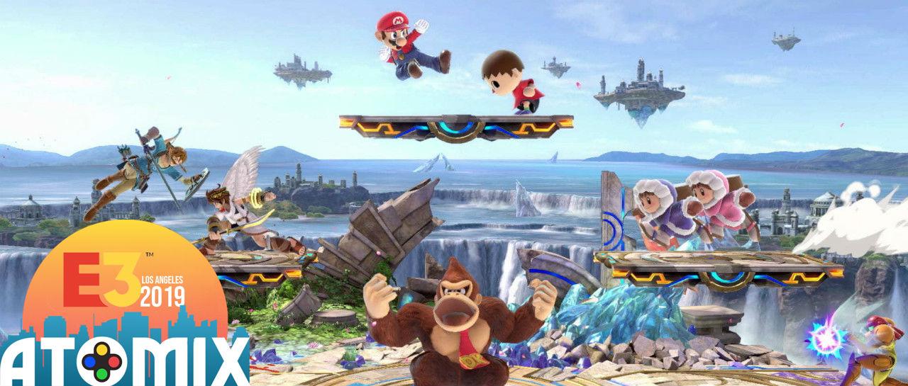 Smash Bros Ultimate E3 2019 Atomix