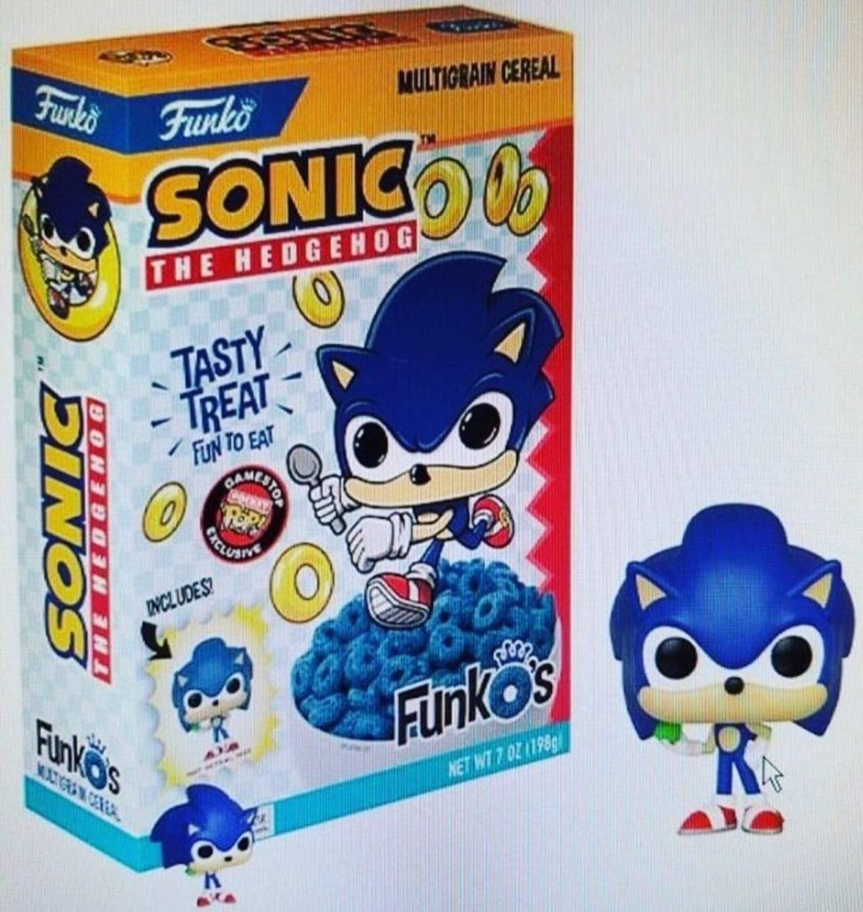 Sonic Funko Cereal Atomix 2