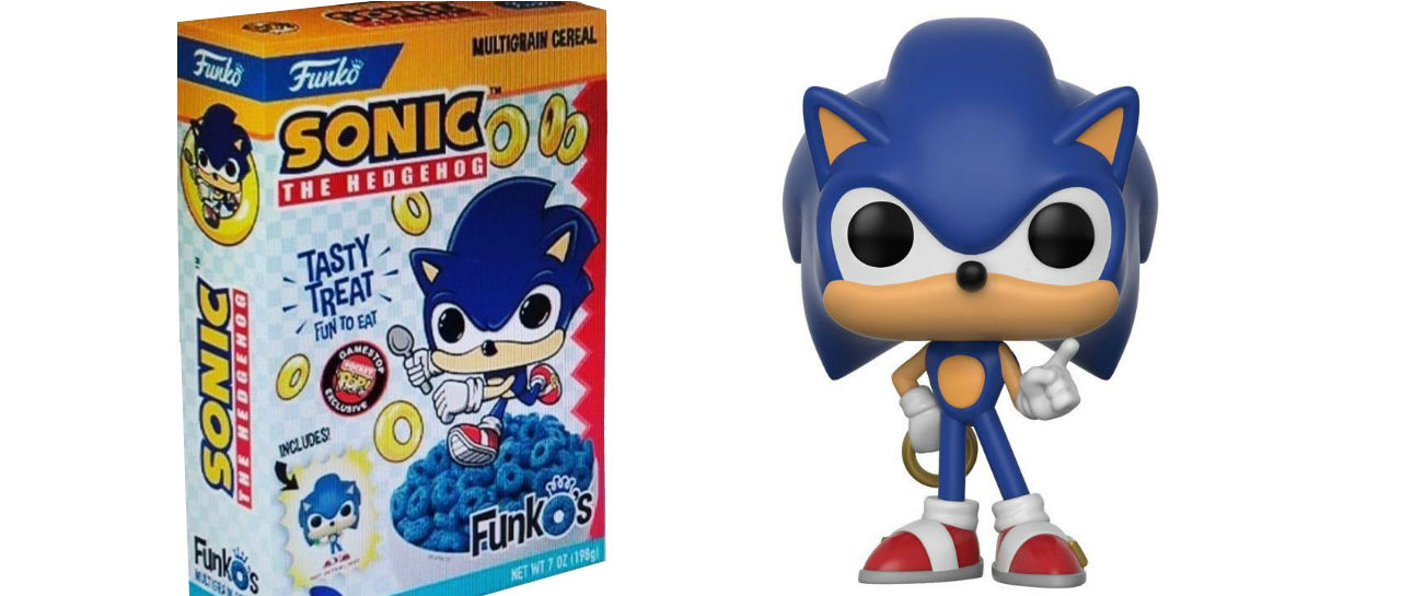 Sonic Funko Cereal Atomix