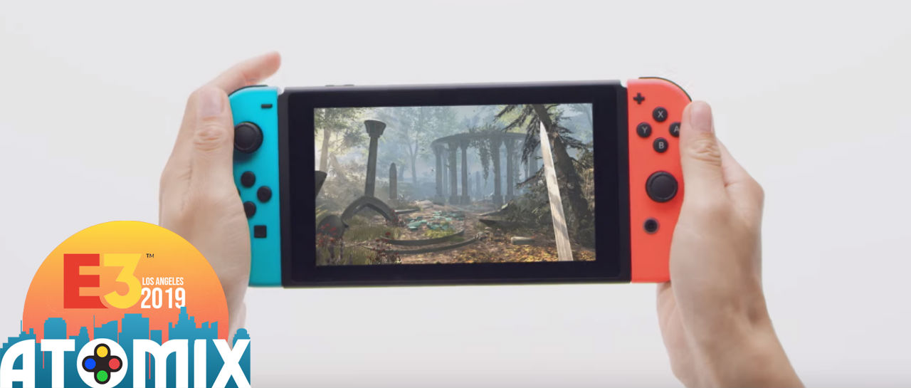 The Elder Scrolls Blades Switch Atomix E3 2019