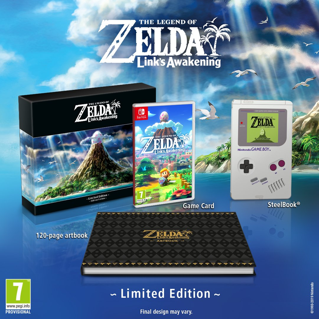 The Legend of Zelda Links Awakening Limited Edition Atomix E3 2019