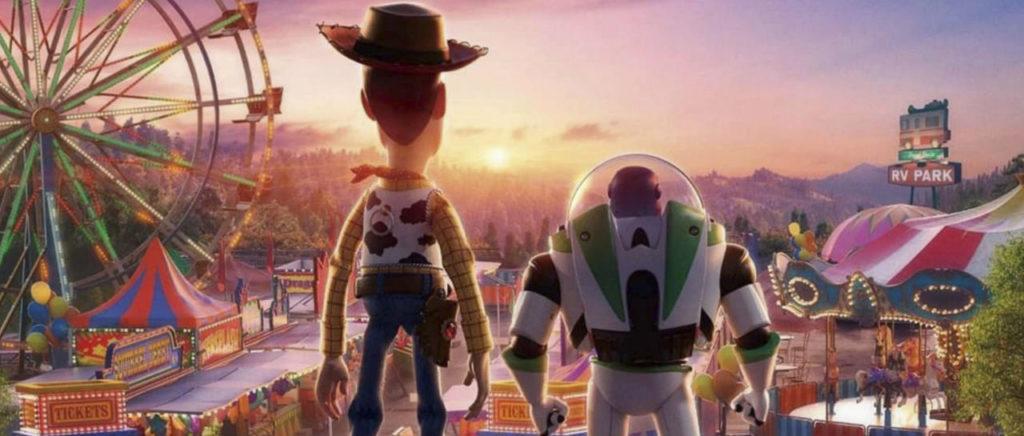 Toy Story 4 Woody Buzz Atomix