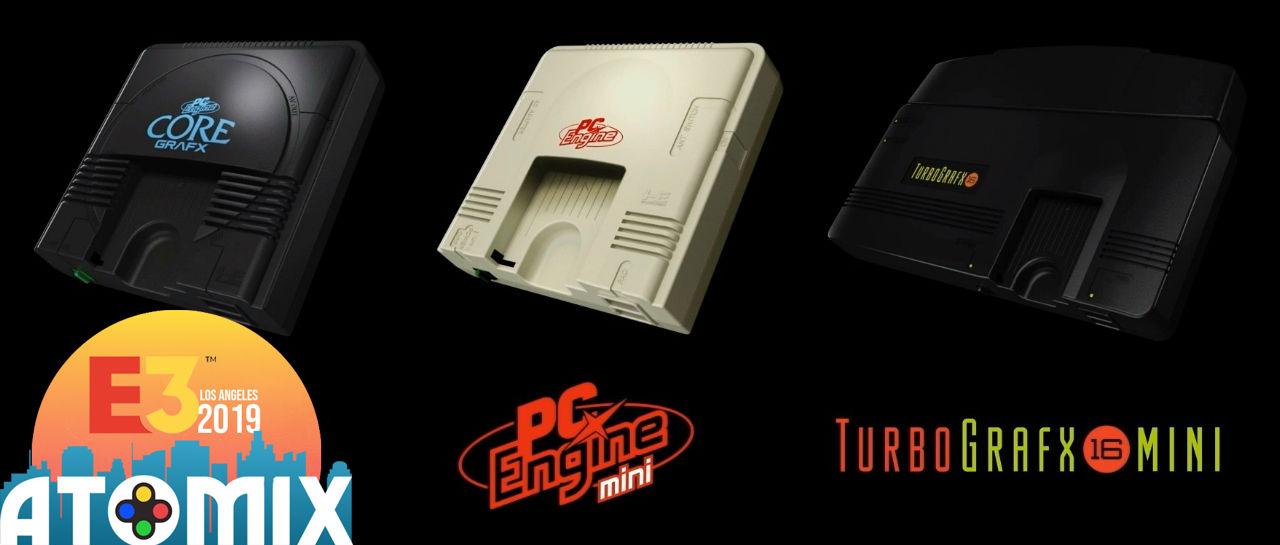 Konami da a conocer mini consolas de TurboGrafx16, PC Engine