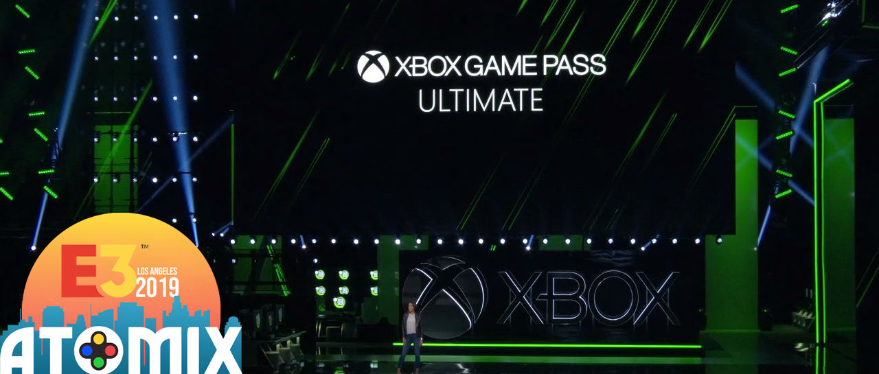 Xbo Game Pass Ultimate E3 2019 Atomix