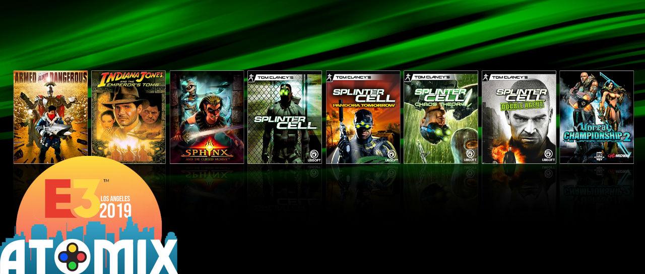Xbox retrocompatibilidad E3 2019 Atomix