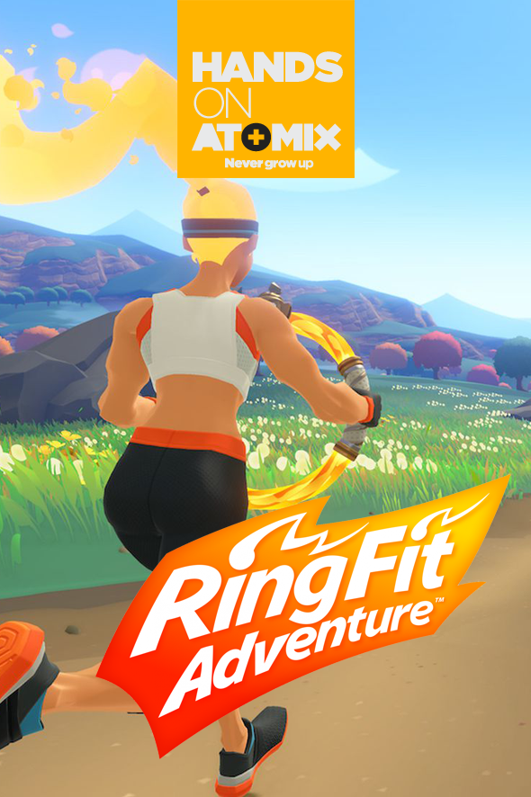 Hands On Ring Fit Adventure