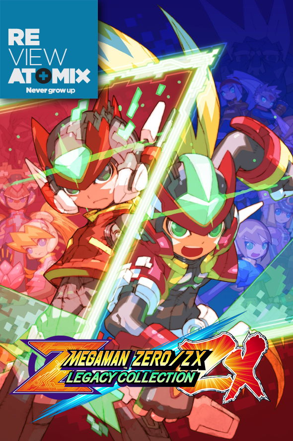 Review mega man zero_zx legacy collection