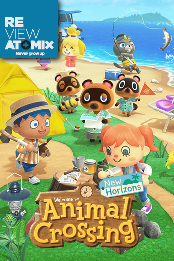 Review Animal Crossing New Horizons