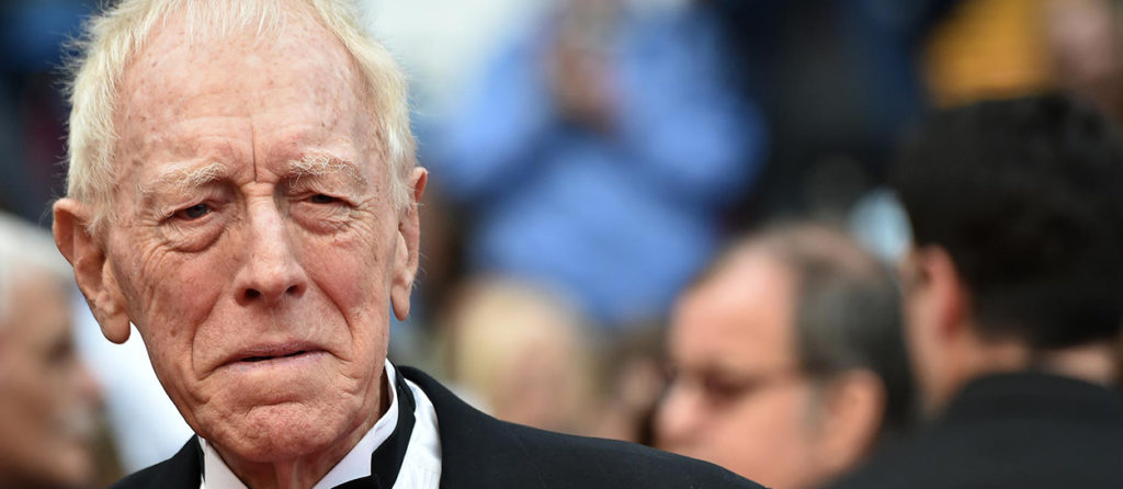 Max Von Sydow, actor de Star Wars y Skyrim, ha fallecido
