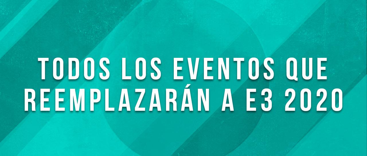 Banner Eventos E3 2020