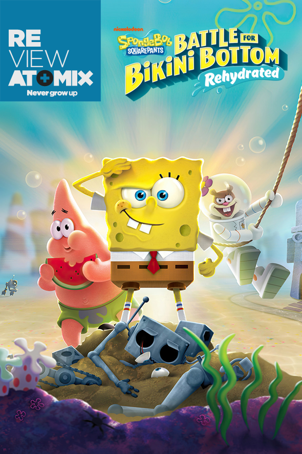 Review SpongeBob SquarePants- Battle for Bikini Bottom Rehydrated