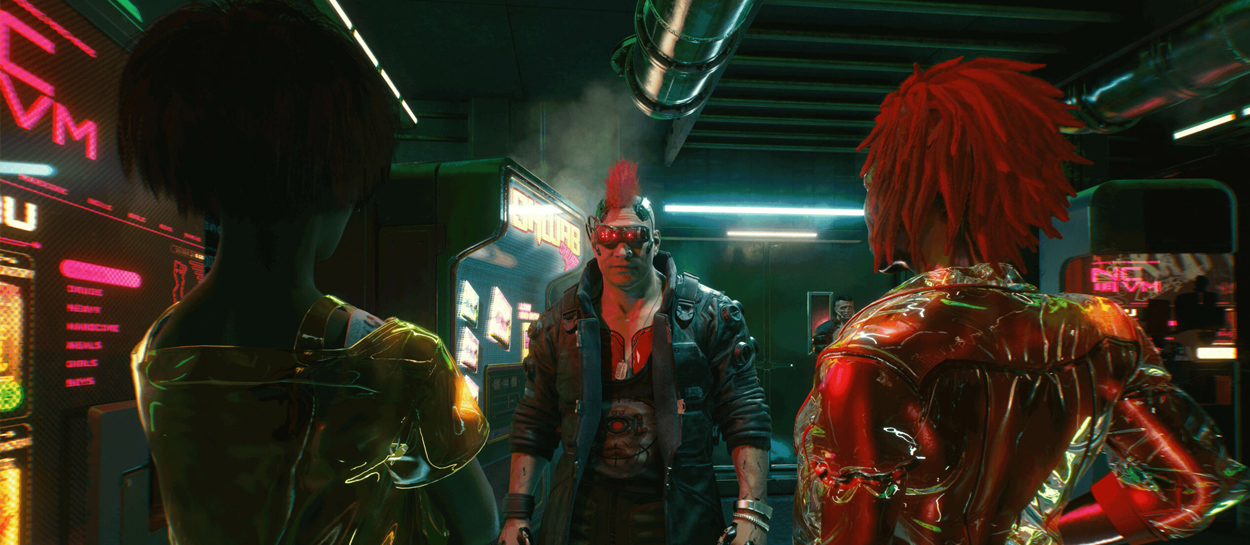 cyberpunk 2077 contenido