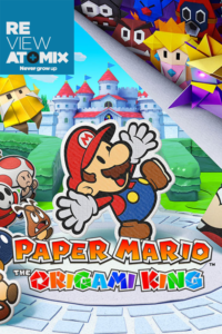 Review Paper Mario The Origami King