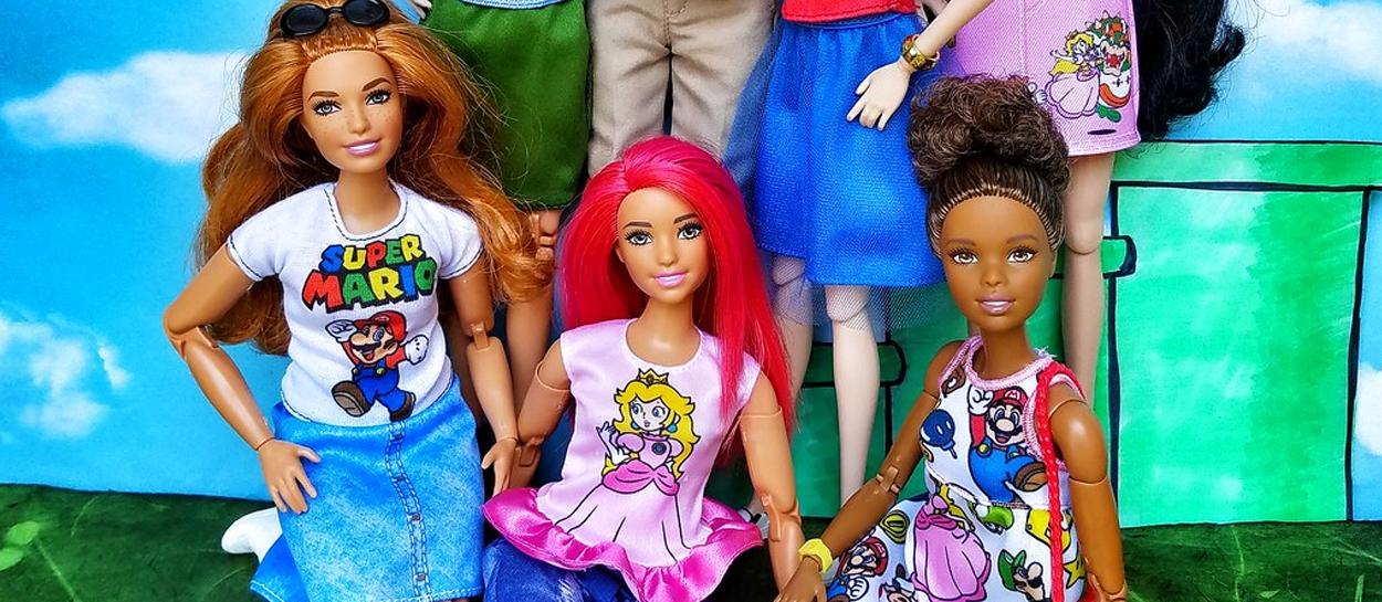 barbie mario