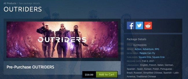 outriders-steam-page