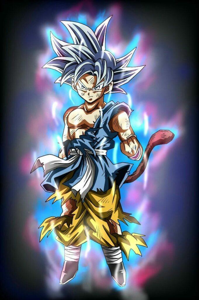 Dragon-Ball-GT-Artista-imagina-a-Goku-nino-dominando-el-Ultra-Instinto-
