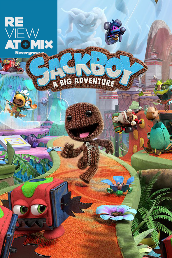 Review Sackboy A Big Adventure