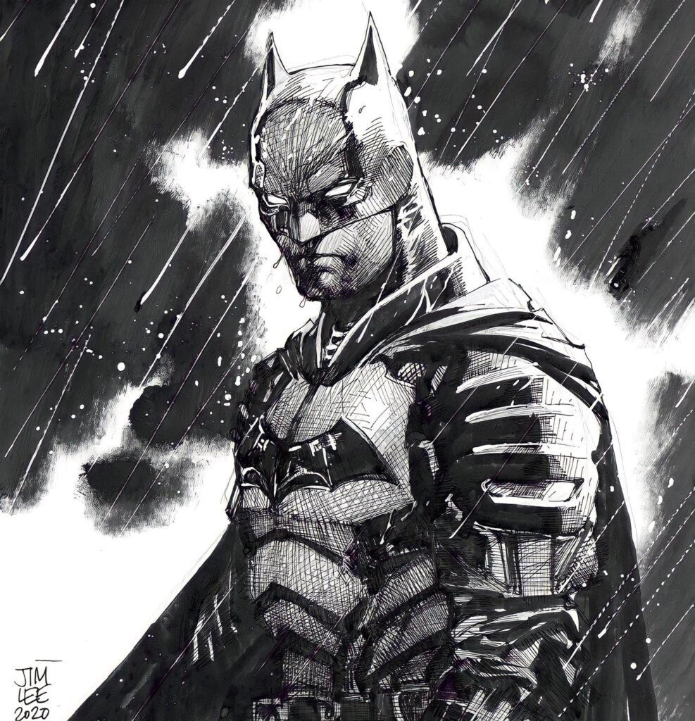 batman boceto