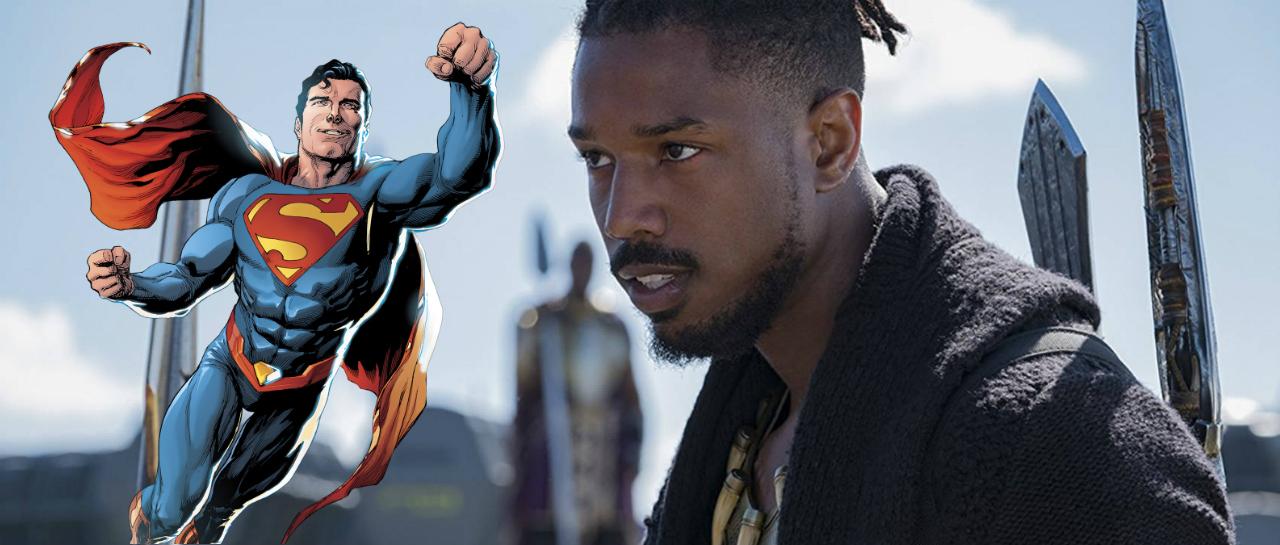 Superman Michael B. Jordan DCEU Tierra 23 J. J. Abrams Warner Bros.