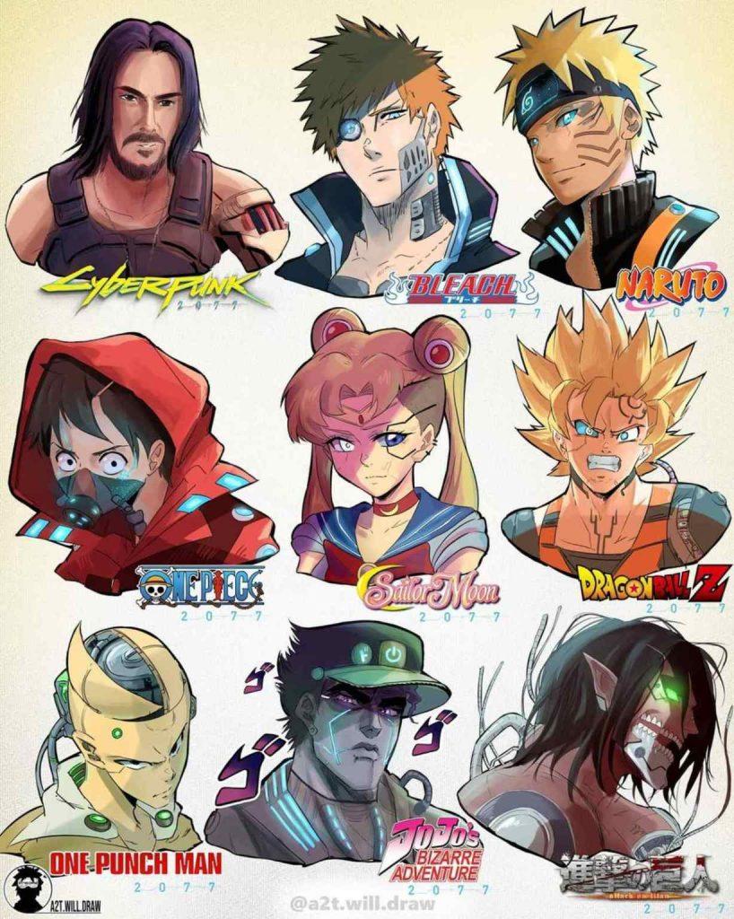 Asi-se-ven-Naruto-Goku-y-otros-protagonistas-de-anime-al-estilo-de-Cyberpunk-2077