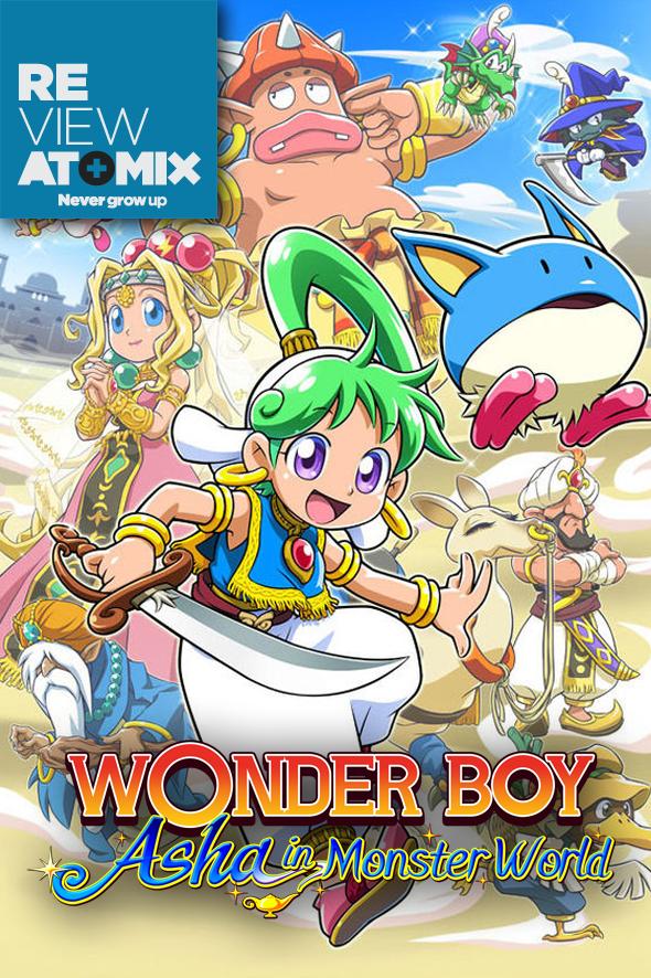 Review Wonder Boy – Asha in Monster World