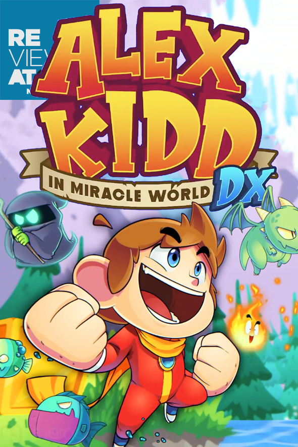Review Alex Kid in Miracle World DX