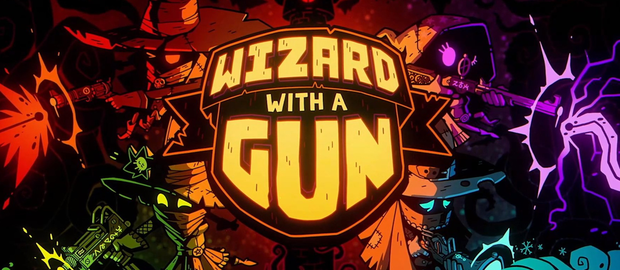 wizar with a gun